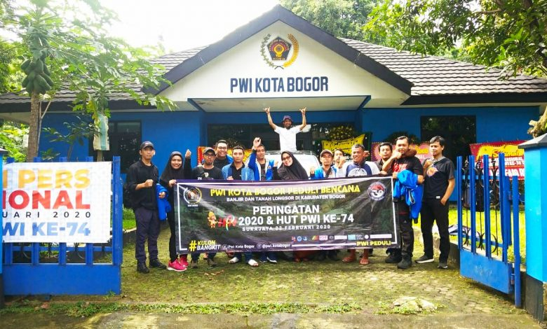 Photo of HPN 2020 dan HUT PWI di Lokasi Bencana Sukajaya