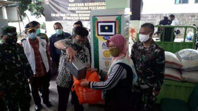 Photo of ATM Beras Bisa Salurkan 1000 Warga Per Hari Ditinjau Mentan dan Pangdam III/Siliwangi