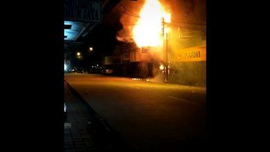 Photo of Kebakaran di Jalan Merdeka Bogor Hanguskan Bangunan Bekas Toko Buku