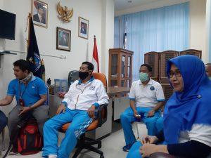 BNN Kabupaten Bogor saat Bersilurahim dengan Awak Media