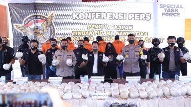 Photo of Sindikat Narkoba Internasional Terbongkar, 402 Kg Sabu Diamankan di Pelabuhan Ratu Sukabumi