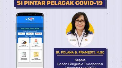 Photo of Aplikasi L-Cov Bisa Deteksi Dini  Covid -19 Bagi Pengguna Transportasi Umum Jabodetabek