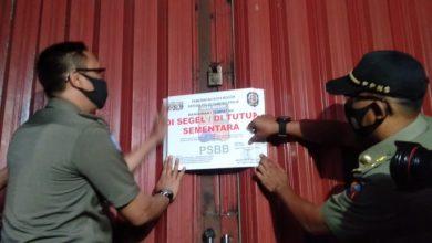 Photo of Langgar PSBB Transisi, Pemkot Bogor Kembali Segel Tempat Hiburan Malam