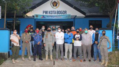 Photo of Dikunjungi Korps Penegak Perda, PWI Kota Bogor Usul Bentuk Satgas Gabungan Perbatasan