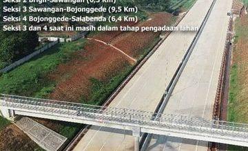Photo of Seksi 2 Dioperasikan, Tol Desari Bakal Dilanjutkan Hingga Salabenda Bogor