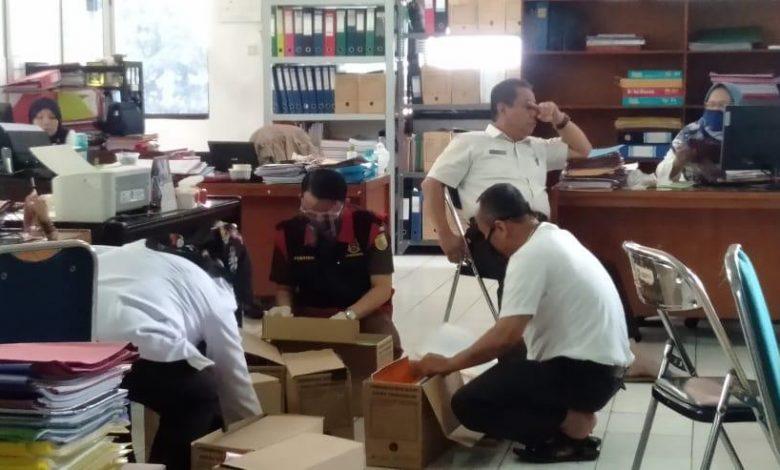 Kantor Disdik Digeledah