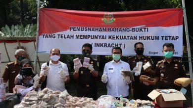 Photo of Barang Bukti 112 Perkara Kejahatan di Bogor Dimusnahkan
