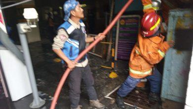 Photo of Gedung BAAK , Kampus Unpak Bogor, Kebakaran