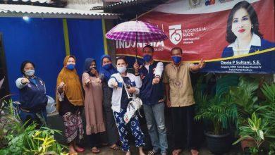 Photo of Politisi Nasdem Devia P.S , Blusukan Kawal Penyaluran BLT UMKM Di Kota Bogor