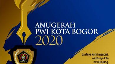 """Photo of """" Anugerah  PWI Kota Bogor 2020 """"  Untuk Mereka Yang Berjuang dan  Berkorban Melawan Pandemi Covid-19"""
