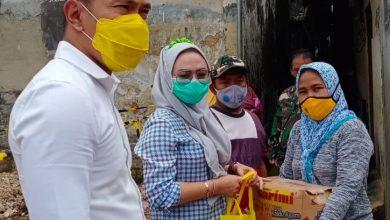 Photo of Kader Golkar, M Rusli Prihatevy, Blusukan Datangi Korban Banjir Akibat Proyek Double Track.