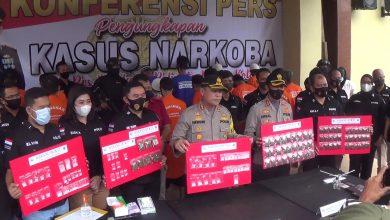 Photo of Sat Narkoba Polres Bogor Kota Ungkap Jaringan Narkoba ,  21 Pengedar Diringkus