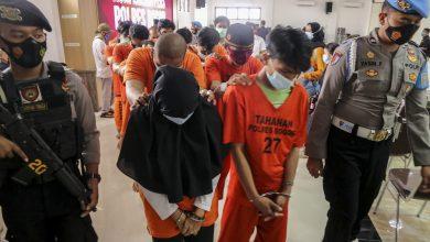 Photo of Polres Bogor Ungkap Jaringan Peredaran Narkoba dan Meringkus 14 Pengedar/Bandar Narkoba.