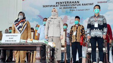 Photo of BPN Kota Bogor, Sudah Serahkan 650 Sertifikat PTSL Untuk Warga Kota Bogor