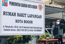 Photo of Naik Drastis Capai 91,9 %, Pasien Sembuh Covid-19, Pemkot Bogor Akan Tutup RS Lapangan