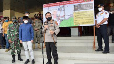 Photo of Polisi Siapkan Rekayasa Lalu Lintas Dan  Awasi Ketat Mobiltas Pengunjung Pasar Kebon Kembang Kota Bogor