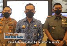 Photo of Naik Tiga Kali Lipat,  Penyebaran Covid-19 Di Kota Bogor Semakin Menggila
