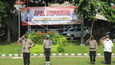 Photo of Antisipasi Kerawanan Wilayah, Polresta Bogor Kota Gelar Apel Sispamwil