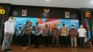 Photo of Kang Arie Surbakti , Secara Aklamasi Kembali Terpilih Ketua PWI Kota Bogor